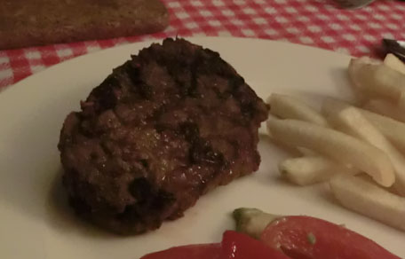 Steak met Cajunkruiden